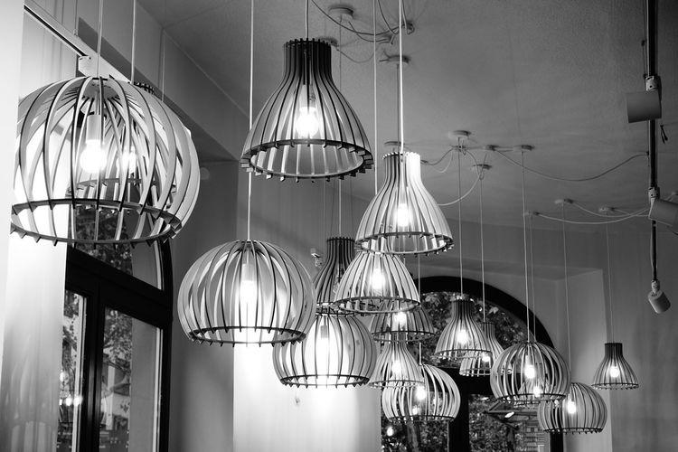 lamps Coathanger Illuminated Hanging Nightclub Celebration Kitchen Disco Ball Lighting Equipment Ceiling Modern Electric Lamp