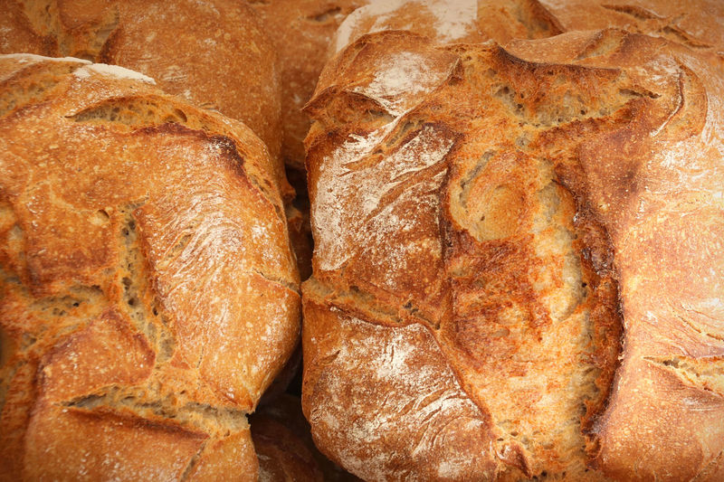 Food Food And Drink Freshness Close-up Bread Ready-to-eat Brown High Angle View Healthy Eating Wellbeing Full Frame Directly Above French Food Baked Crisp Bread Crust