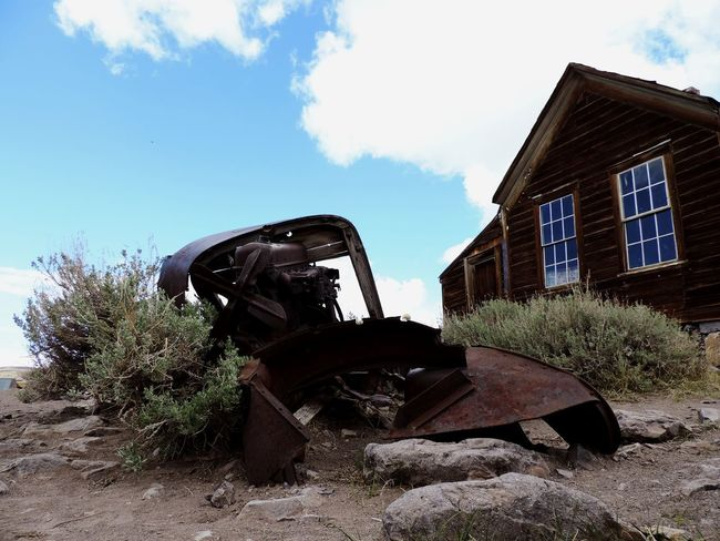 Ghosts Town Bodie Ghost Town Sky Nature Architecture Day Building Exterior Built Structure No People Cloud - Sky Outdoors House
