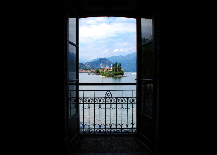 Lake Maggiore Italy Lake Maggiore, Stresa, Italy Indoors  Lake Maggiore ❤️ Open Window Through Window Water Window EyeEmNewHere