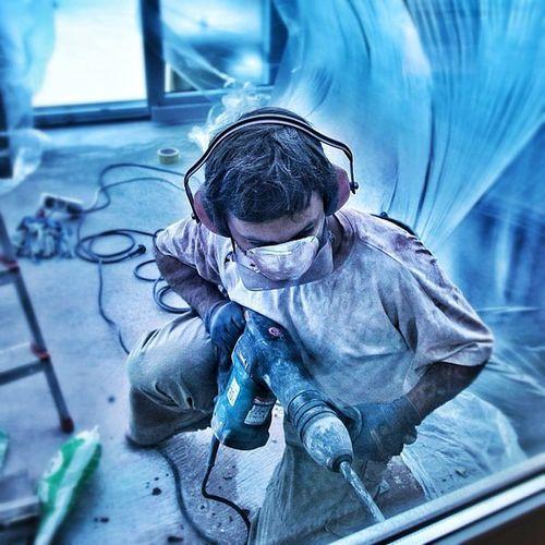 #manwork 2nd edition Hammer Jj  Jj_forum Destroy Work Blue Man Snapseed All_shots Bestoftheday