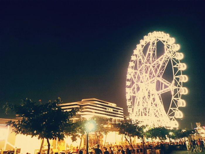 Eye of MOA @ night