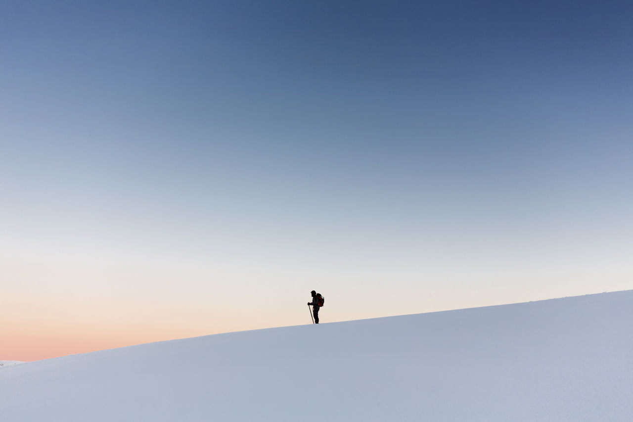 Adventure,  Backpack,  Beauty In Nature,  Clear Sky,  Cold Temperature
