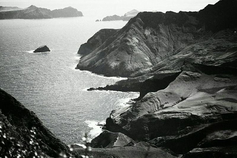Chile Archipielago Juan Fernandez Isla Robinson Crusoe Mirador De Selkik Nature Flawless Work Black And White
