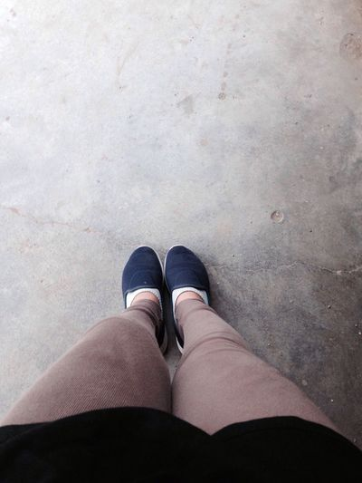 Shoe 👠 One Person Personal Perspective Low Section Human Leg Standing High Angle View Human Body Part Real People Lifestyles Directly Above Outdoors Day Close-up People