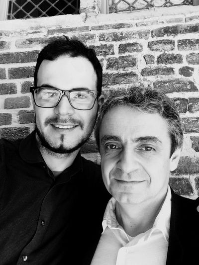 With Pascal Moragues Klarinettenwettbewerb Ghent