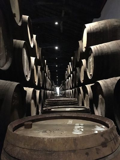 Wine Cellar No People Wine Cask Taylor's Port Wine