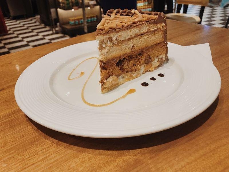 Dessert cake sweet temptation Almond Choco sansrival conti's
