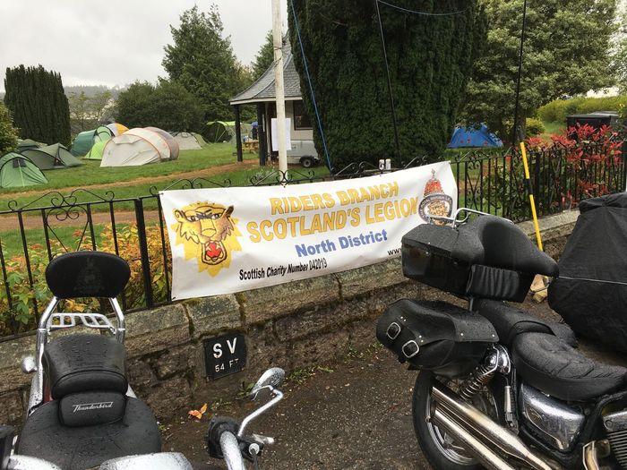 British Legion Scotland Motorcycles