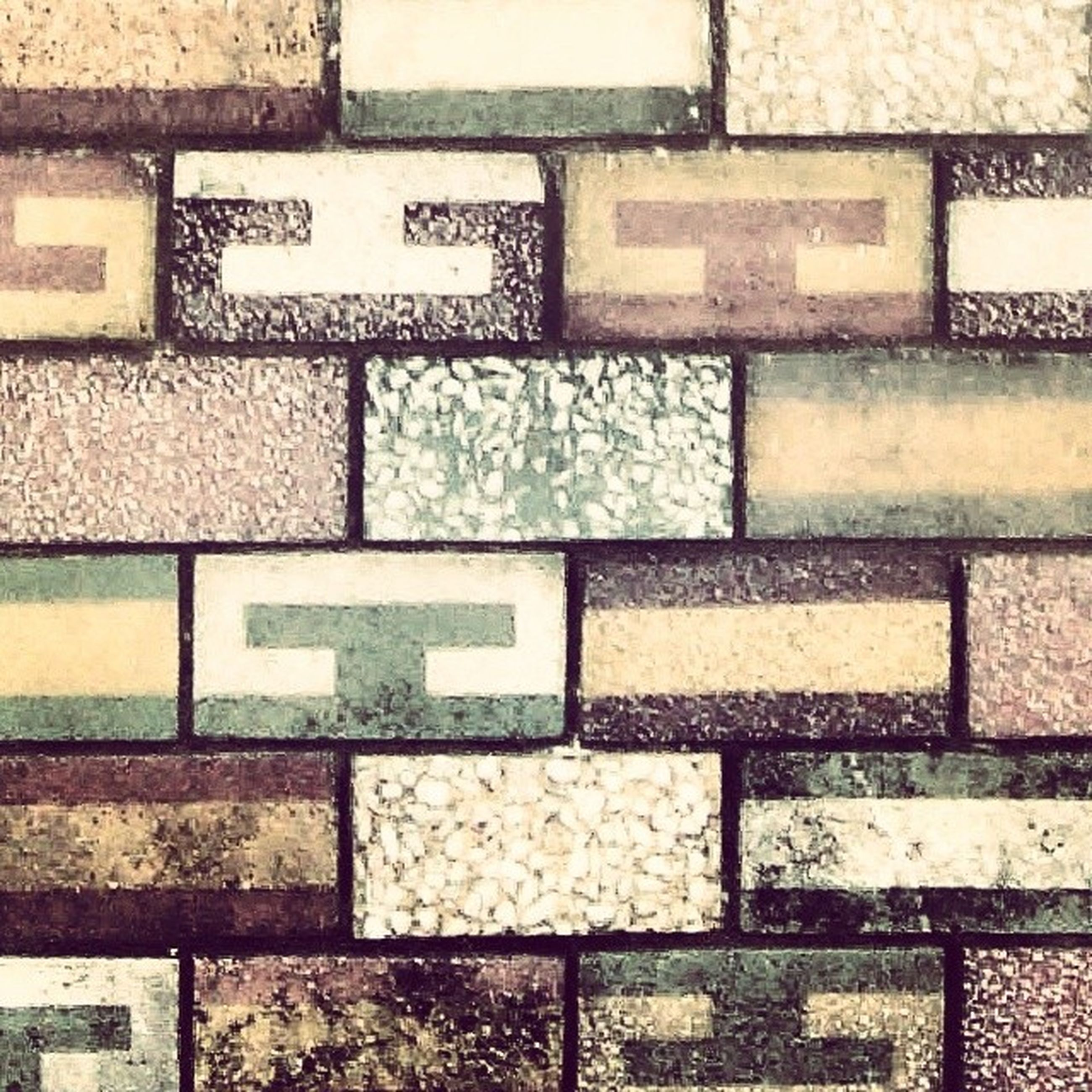 full frame, backgrounds, textured, pattern, close-up, wall - building feature, detail, metal, built structure, brick wall, no people, outdoors, day, architecture, repetition, high angle view, wall, design, shape, rough
