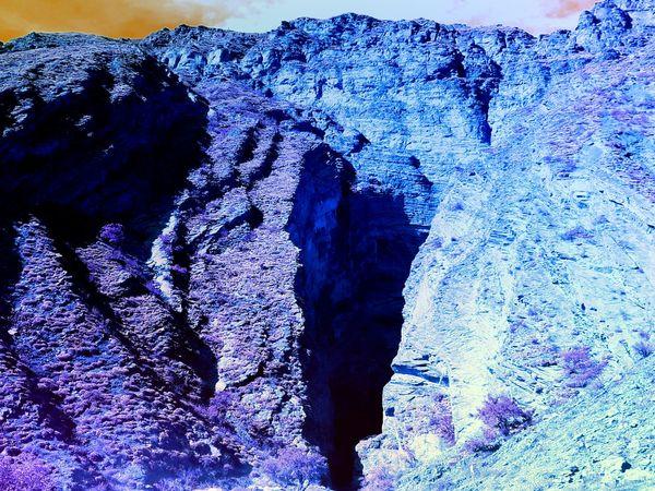 Cafayate, Salta, Argentina! Colores Norteños Garganta Del Diablo Monuments Norte Argentino Beauty In Nature Close-up Mountain Nature No People Outdoors Rock - Object Rock Formation Salta, Argentina Sun Light Textured