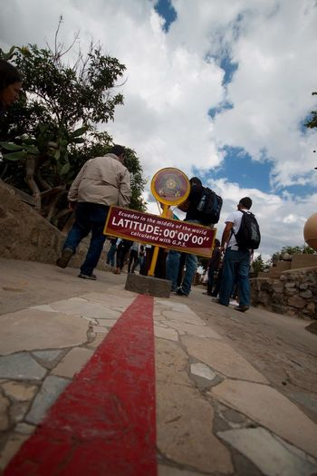 Ecuador Quito Half Of The World