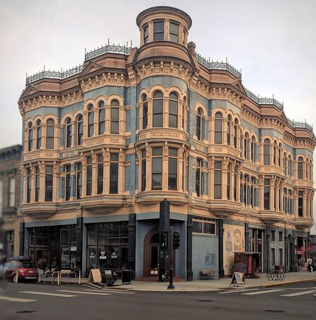 Travel Destinations City Architecture Port Townsend Architecture Hastings Building History Sky Outdoors No People Day Blue Blue Building
