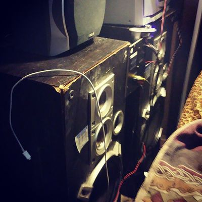 Home made system Audio Speakersfordays OnMyLevel Photooftheday