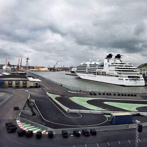 After a hard day out racing my white 1977 Lotus Esprit Turbo (underwater edition) I like to head down to my luxury cruise liner and relax with my entourage. Sweden Götaälv Racetrack Riverscape Clouds Skyporn älv River Goteborg City Ferry Sky Seascape Cloud Karting Ship Barco Cloudy Sverige Cloudporn Kart Boat Ig_sweden Greysky Cityscape Hisingen Track Frihamnen Gothenburg