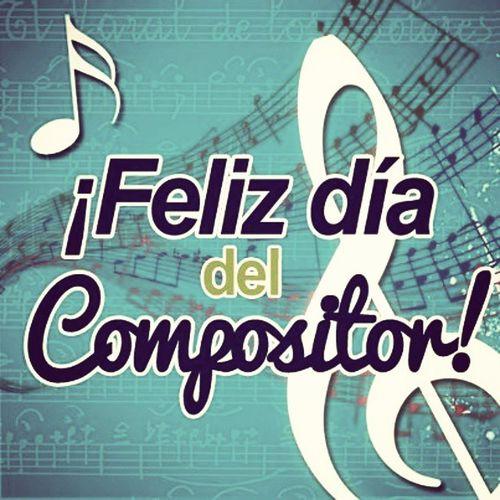 Feliz día a todos los compositores. 15 de Enero Se tienen las ideas para hacer mil temas pero hacerlo melodia es un arte. FELICIDADES!!!! Diadelcompositor Music 15deEnero