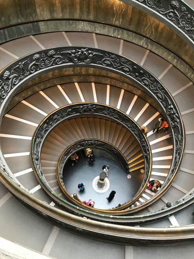 Spiral Railing Spiral Staircase Steps And Staircases Staircase Architecture Built Structure Design Indoors  Moving Down Curve
