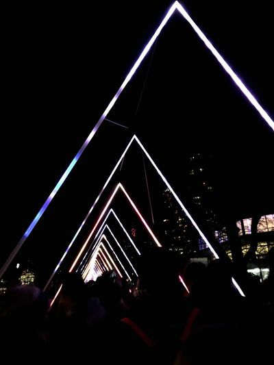 Lumiere on The South Bank Walking Home From Work London LumiereLDN Lumiere Festival Lumiere 2018 Lumierelondon Lumière Popular Music Concert