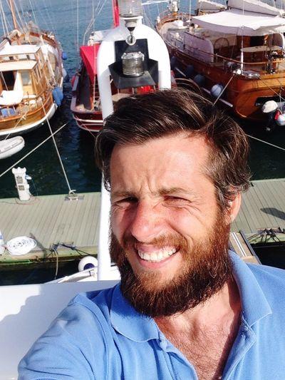 Yacht Rock Enjoying The Sun Fresh Air Relaxing Going Sailing Bodrum, Turkey Hi!