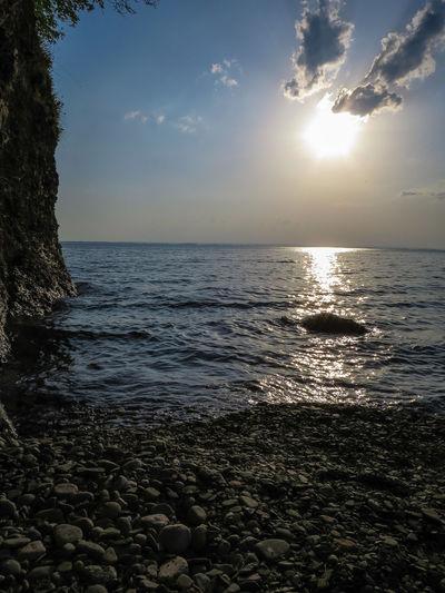 Nature Reserve Beach Sun Reflection Cliffs