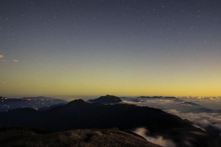 Astronomy Beauty In Nature Clear Sky EyeEm EyeEm Best Shots EyeEm Best Shots - Nature EyeEm Gallery EyeEm Nature Lover Landscape Mountain Mountain Province Mountain Range Mt. Pulag Nature Night Outdoors Scenics Sky Tranquil Scene Tranquility
