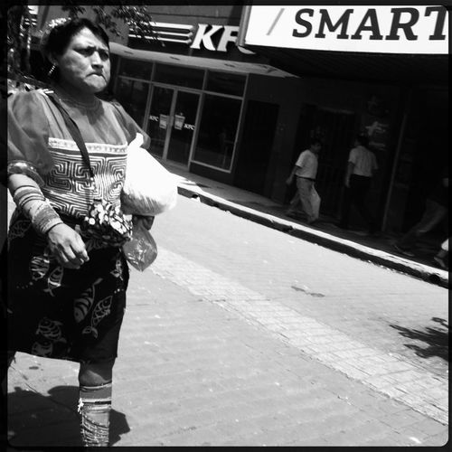w/ iPhone 5 - Oggl by Hipstamatic Streetphotography Blackandwhite WeAreJuxt.com AMPt_community