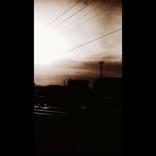 No People Sky Outdoors Day Darkness And Light Darkness Dark Clouds Depressions