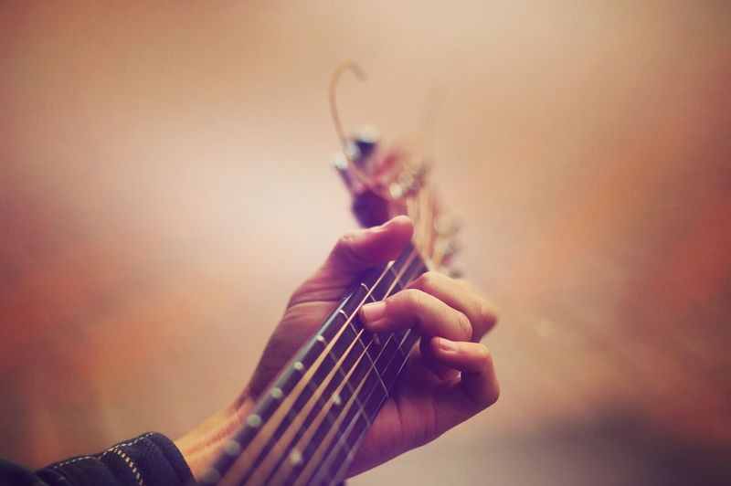 Music Human Hand Playing Skill  Musician busking Guitar busk'n Fretboard Love First Eyeem Photo Street Photography Street Performer