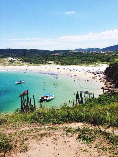 Praia das Ostras, Cabo Frio-Rio de Janeiro/ Oyster beach, Cabo Frio-Rio de Janeiro Beauty In Nature Nature Beach First Eyeem Photo