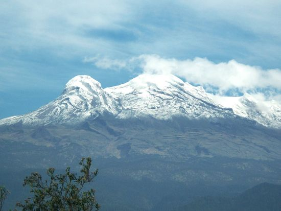 Iztaccihuatl Mountain Scenics Beauty In Nature Tranquil Scene Snowcapped Mountain Tranquility