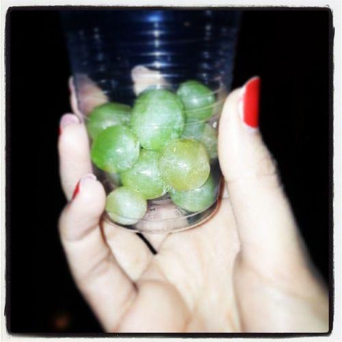 Mis 12 uvas de anoche :p WelcomeNewYear