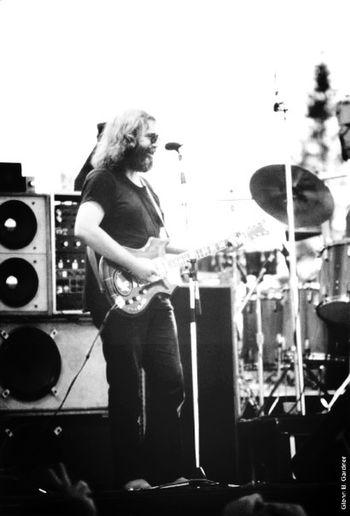 Jerry Garcia Enjoying Life Grateful Dead