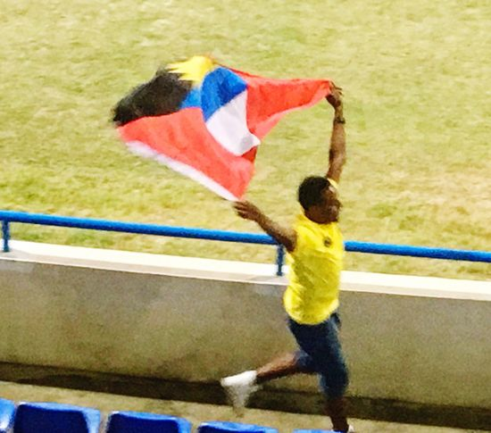 When a WIN is what we needed Antigua And Barbuda Bennaboys