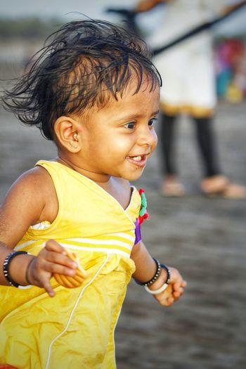 Child Childhood Yellow Offspring Baby Toddler  Close-up The Portraitist - 2018 EyeEm Awards