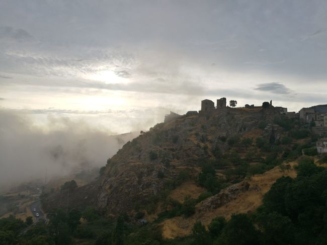 Cesarò-nebrodi Fog Tourism Travel Travel Destinations Mountain Rock - Object Cliff Landscape Cloud - Sky Outdoors Nature Vacations Sky Scenics Beauty Human Eye Beauty In Nature Tree Day People
