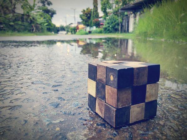 Q Qube ! Qube Redmi1s Road Outdoor Wetstreets Wetstreet Rain Wetroad