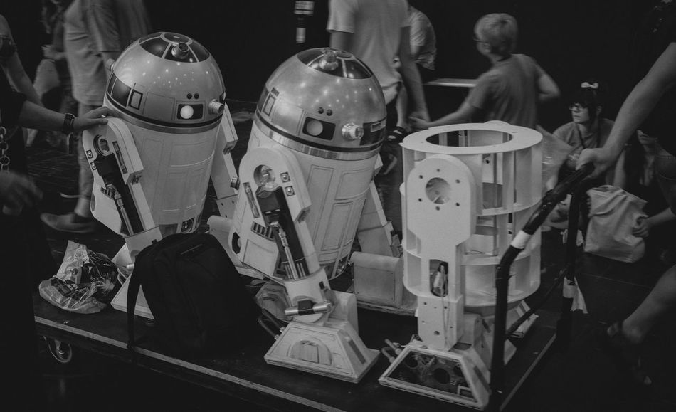 These are not the droids... Star Wars Droid R2D2 Blackandwhite Monochrome Eye4black&white  Getting Inspired Tadaa Community Nikon DIY On The Move Celebration Star Wars Love Star Wars Day MOVIE Starwars