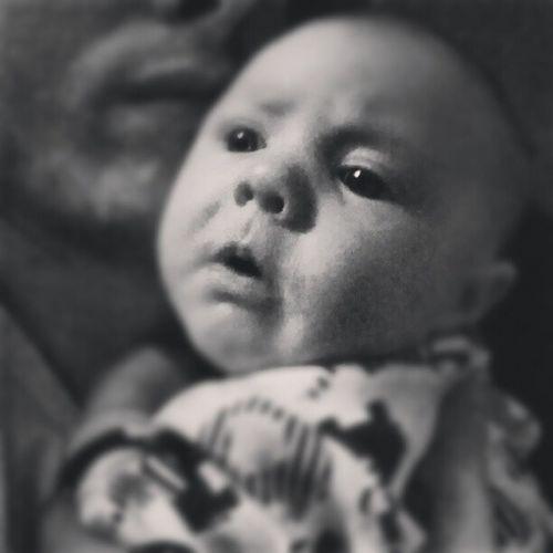 Daughter. Stella Baby B äbis Bebis blackandwhite blackandwhitephotography beautiful