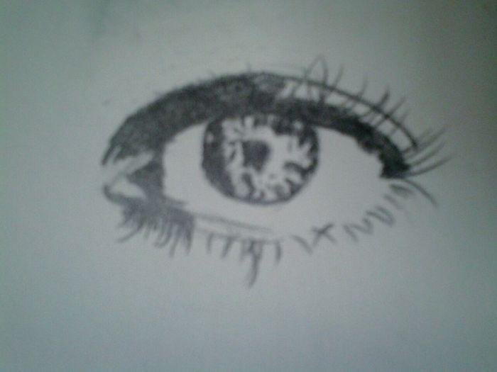 Eye Drawing Graphite Drawing