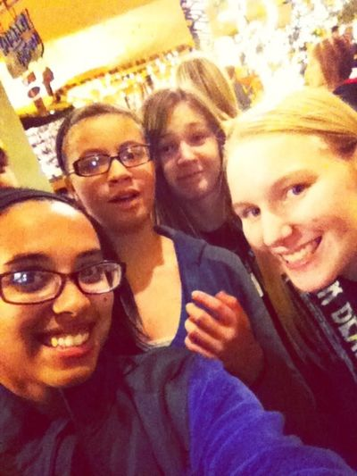 Kalahari Selfie! Loving High School ???