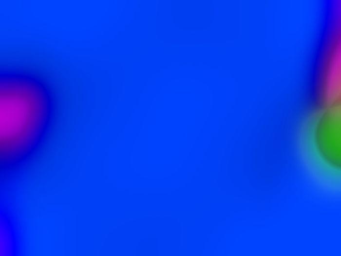 Close-up of illuminated ball on blue background