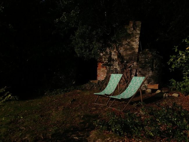 No People Nature Outdoors Green Colour Day Old Structure Sunshine Autumnal Deck Chairs Perspectives On Nature Be. Ready. Rethink Things The Still Life Photographer - 2018 EyeEm Awards