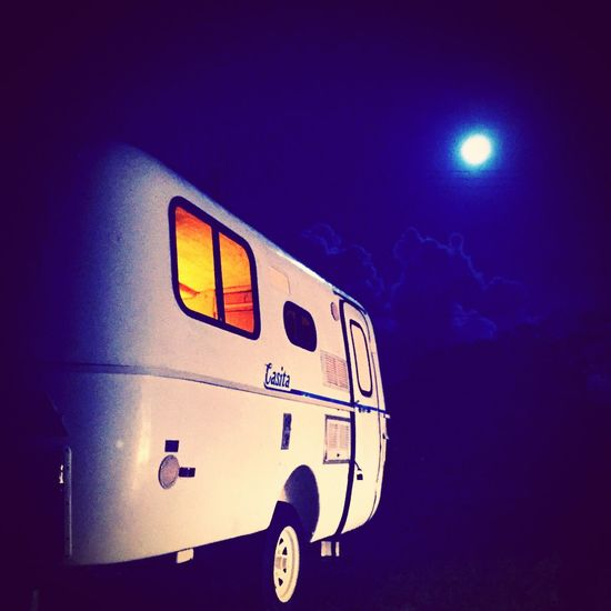 blue Moon Camping Outdoors Trailers Summer Memories 🌄