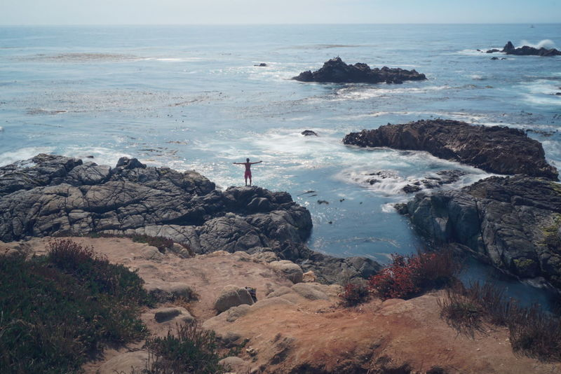 Embrace the moments you get, they only come once in your life! Rock Formation Coastline Outdoors Tourism Vacations Beach Rock - Object Scenics Landscape Water Cliff Pacific Coast Highway California Thegreatoutdoors-2016eyeemawards