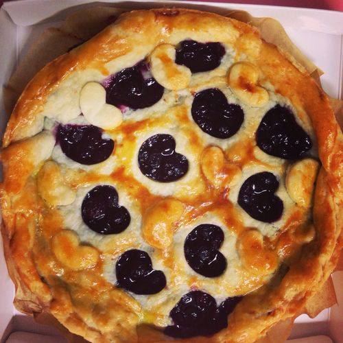 Homemade Blueberry Pie Baking Foodie