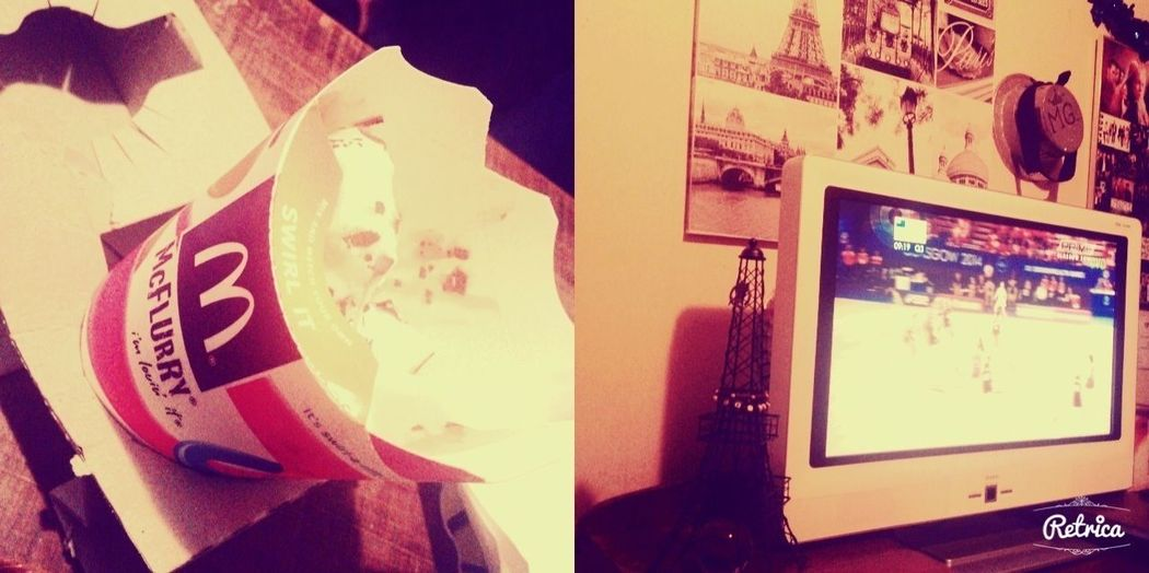 Ice cream and Tv , two of my favourite things ??? Tvandicecream Weekend Midnight Commonwealth Games