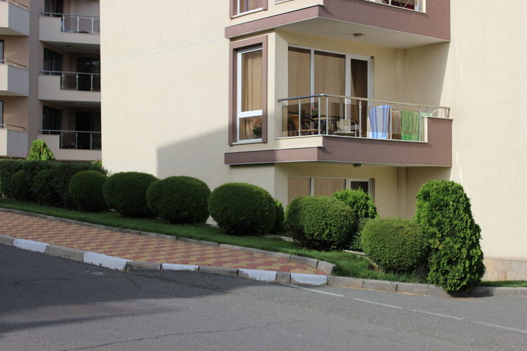 Apartment Architecture Balcony Bolgaria Building Building Exterior Built Structure City City Life Day Exterior Façade Green Color Growth Modern Multi Colored No People Outdoors Plant Repetition Residential Building Residential Structure Side By Side Sky