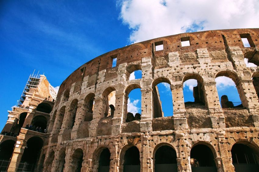 My first time in Roma and enjoyed Collosseum Travel Destinations Rome Roma Colloseum Travel Photography