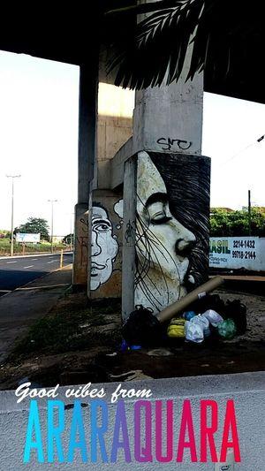 Sao Paulo - Brazil Araraquara Grafitti Street Art Outdoors Graffiti The World Graffiti Photography First Eyeem Photo