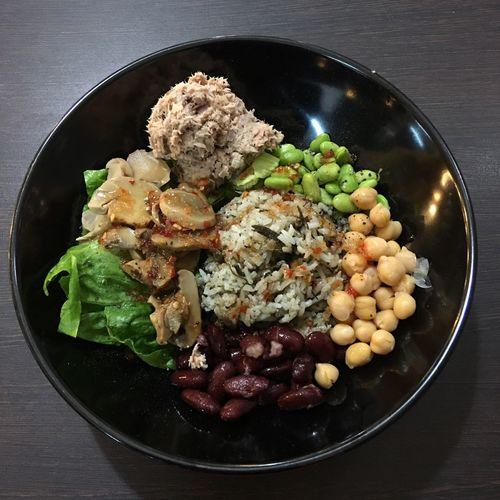 Farm salad with
